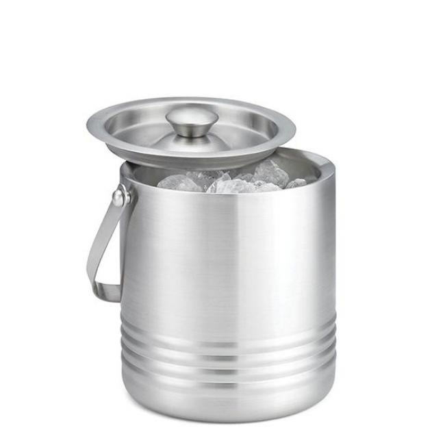 DOUBLE WALL S/S ICE BUCKET 18*16.5 cm/RIB76