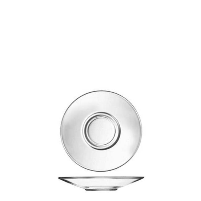 ΠΙΑΤΑΚΙ ΓΥΑΛΙΝ0 ESPESSO AROMA (C1360) J9827 / 12 εκ