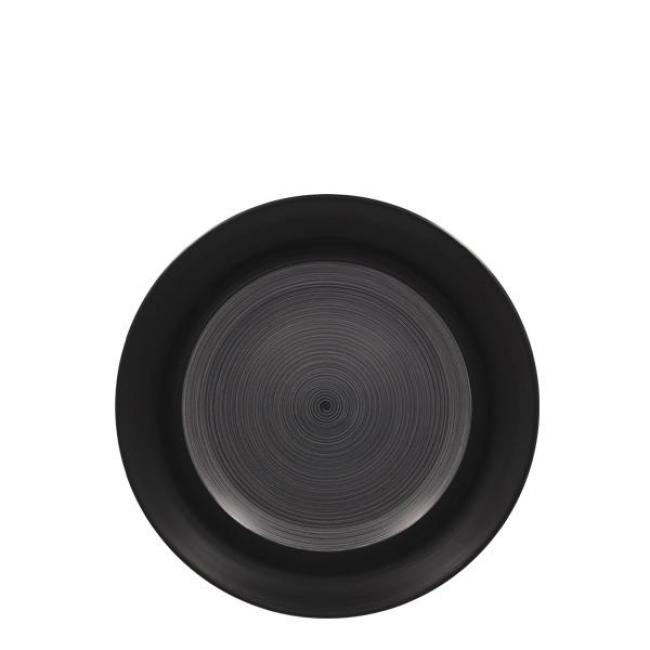 TRINIDAD GREY ROUND FLAT PLATE 24CM / TRCLFP24BG