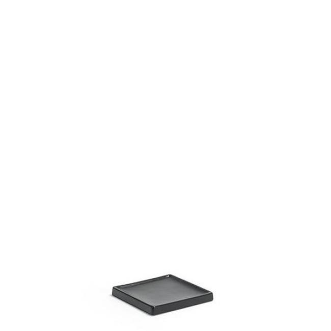 ΣΑΠΟΥΝΟΘΗΚΗ MOROCCO STONEWARE BLACK RSD026BKC23 / 10.2*10.2*1.3 εκ