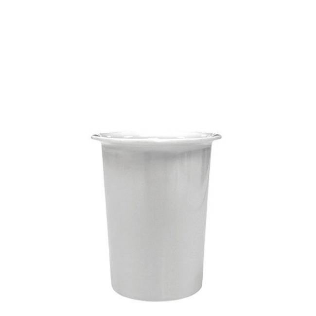 ΔΟΧΕΙΟ DRESSING ΜΕΛΑΜΙΝΗΣ ΛΕΥΚΟ 0.45 Lit EL524 / 9.5*11.5 εκ